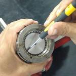 Manutenção de fuso de esferas